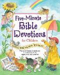 Five Minute Bible Devotions for Children