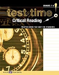 Test Time! Practice Books That Meet the Standards: Critical Reading