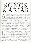 Library Of Songs & Arias
