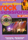 Nineties Rock Sessions For Guitar With C