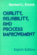 Quality Reliability & Process Improvement 8th Edition