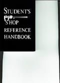 Students Shop Reference Handbook