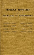 Research Frontiers in Politics and Government