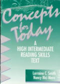 Concepts for Today : a High Intermediate Reading Skills Text / With Answer Key (94 - Old Edition)