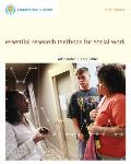 Brooks Cole Empowerment Series Essential Research Methods for Social Work