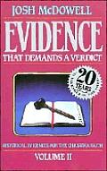 Evidence That Demands A Verdict Volume 2 Ica