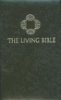 Bible Living Green Indexed Red Letter