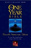 Bible New Living One Year Fifteenth Anniversary