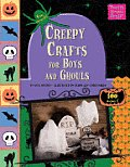 Creepy Crafts for Boys and Ghouls with Sticker and Stencils (Pretty Simple Stuff!)