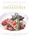 Taste of Excellence Cookbook Holland America Line