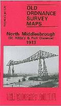 North Middlesbrough (ST.hilda's and Port Clarence) 1913: Yorkshire Sheet 6.10