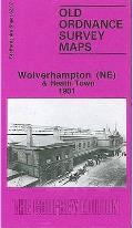 Wolverhampton (Ne) and Heath Town 1901: Staffordshire Sheet 62.07