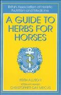 Guide To Herbs For Horses