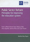 Public Sector Reform: Principles for Improving the Education System