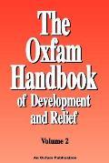 Oxfam Handbook Of Development & Relief Volume 2