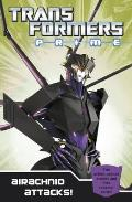 Transformers Prime: Airachnid Attacks!: Book 4