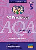 A2 Psychology Aqa (A) Unit 5