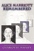 Alice Marriott Remembered