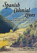Spanish Colonial Lives, Softcover