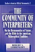 The Community of Interpreters