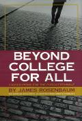 Beyond College for All Career Paths for the Forgotten Half