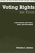 Voting Rights On Trial A Sourcebook With