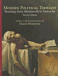 Modern Political Thought Readings from Machiavelli to Nietzsche