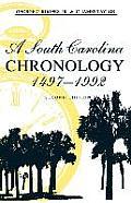 A South Carolina Chronology, 1497-1992, 2nd Ed