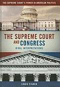 The Supreme Court and Congress