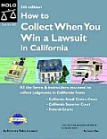 How To Collect When You Win A Lawsuit In