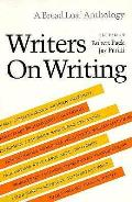 Writers On Writing A Bread Loaf Anthology