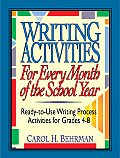 Writing Activities For Every Month Of Th
