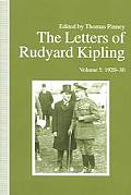 The Letters of Rudyard Kipling V5 1920-30