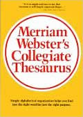 Merriam Websters Collegiate Thesaurus