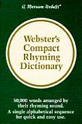 Websters Compact Rhyming Dictionary
