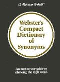 Websters Compact Dictionary Of Synonyms