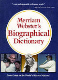 Merriam Websters Biographical Dictionary