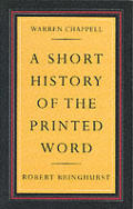 Short History Of The Printed Word