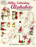 Ribbon Embroidery Alphabets With Iron On Transfers