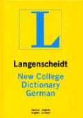 Langenscheidt New College German Dictionary