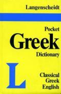 Langenscheidts Pocket Classical Greek Dictionary