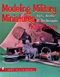 Modeling Military Miniatures with Kim Jones Tools Tips & Techniques