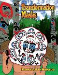 Transformation Masks Coloring Book