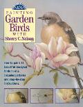 Painting Garden Birds with Sherry C Nelson