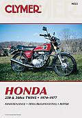 Honda Twins 250 & 360cc Twins 1974 1977 Service Repair Maintenance
