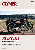 Suzuki GS650 Fours 1981 1983