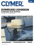 Evinrude Johnson 1.5 125 HP Outboards 1956 1972 Outboard Shop Manual