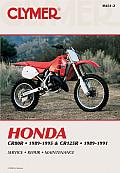 Honda Cr80r & Cr125r Service Repair Maintenance