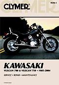 Clymer Kawasaki Vulcan 700 & Vulcan 750 1985 Through 2004 Service Repa
