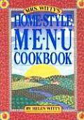 Mrs Wittys Home Style Menu Cookbook